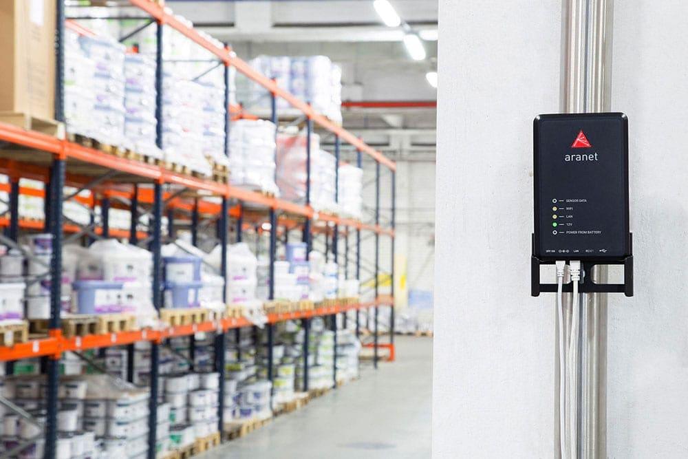 wireless monitoring warehouses