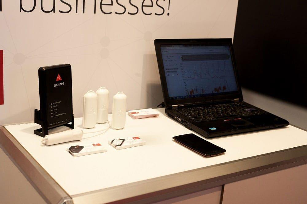 SAF Tehnika launches newest IoT product line Aranet!