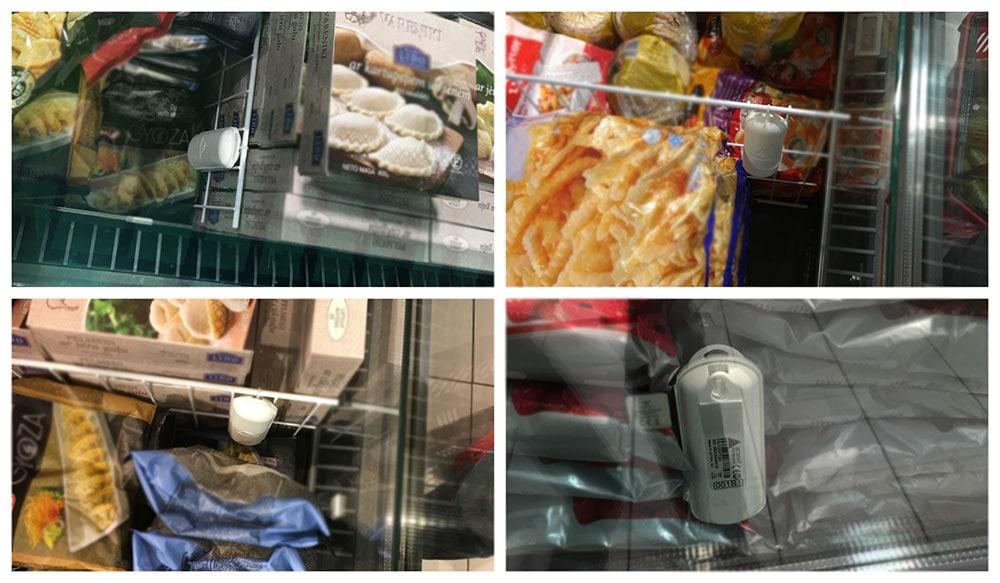 wireless monitoring supermarkets