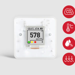 Aranet4 — Wireless Indoor Air Quality Sensor / Bezvadu iekštelpu gaisa kvalitātes sensors
